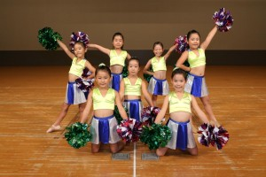 Songleading&DanceFamily台東教室 LittleMonkeys Mini編成POM部門