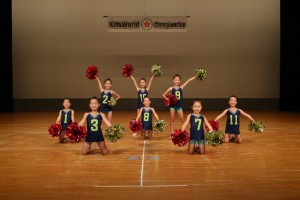 Songleading&DanceFamily市原教室 Pop★Diamond Kids Mini編成POM部門